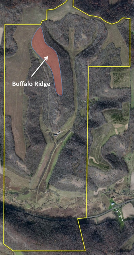 aerial of buffalo ridge 2016 2