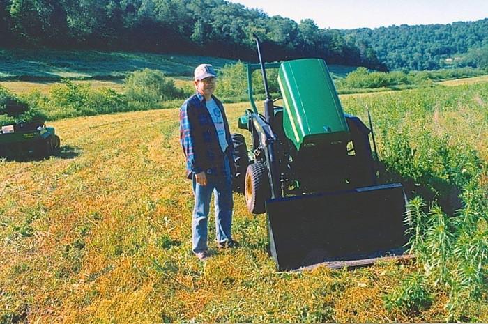summer 2001 mowing 1