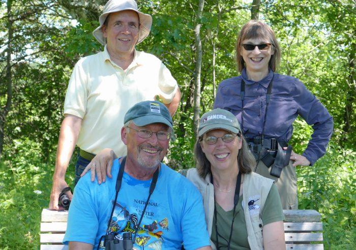2016 Butterfly counters: Stan, Mike, Karen, Susan