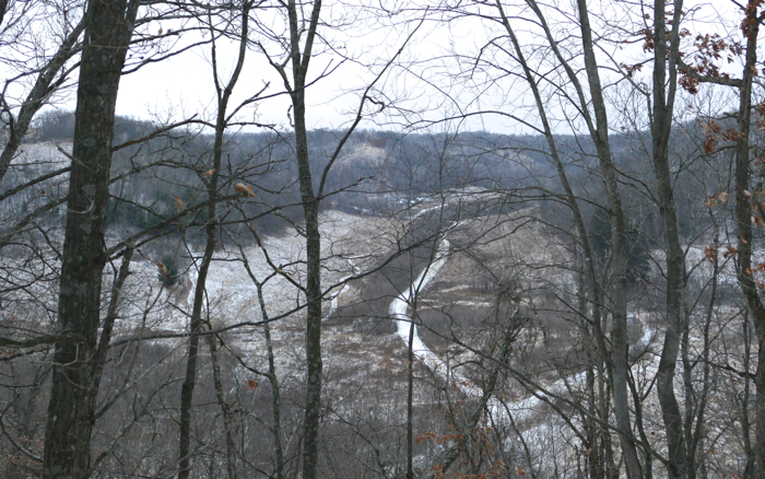view from Maple Hill 12-17-14