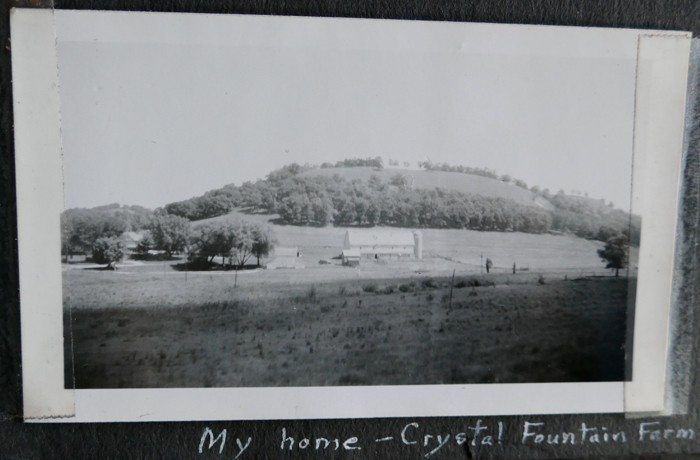 Farm and Sumac Bluff summer 1946