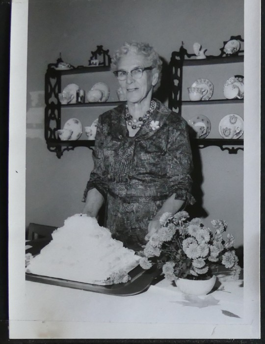 Grandmother - 80th birthday 10-20-1963