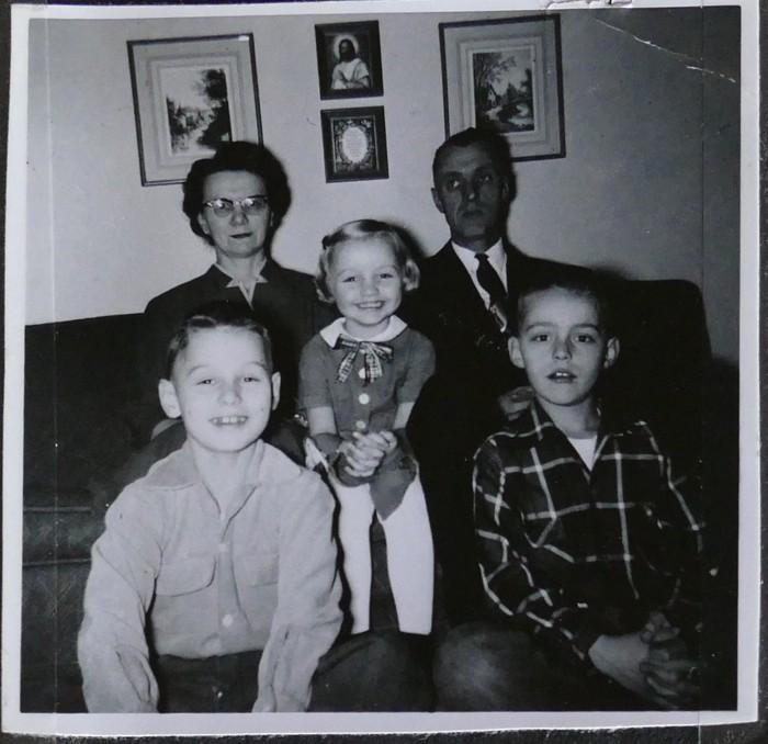 Rutschow Family 1956