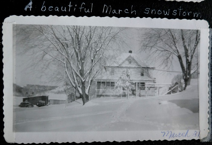 Snowstorm 3-31-1949 2